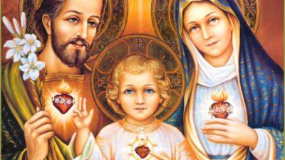 Tríduo em honra a Sagrada Família acontecerá na Baixa Fria