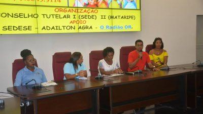 2° Fórum do Conselho Tutelar aconteceu na Câmara de Vereadores