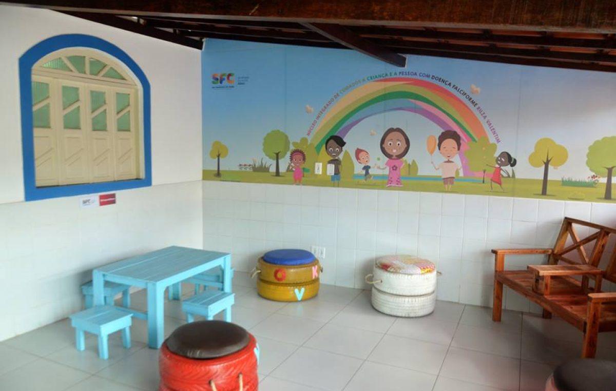 Prefeitura entregouNúcleo Integrado de Cuidados à Criança e à Pessoa com Doença Falciforme Rilza Valentim