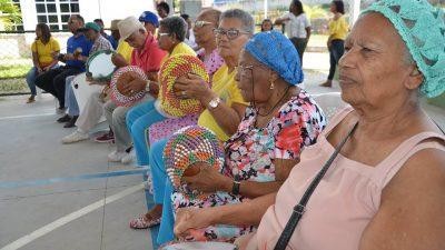 Ação do Serviço de Convivência e Fortalecimento de Vínculos (idosos) está em Jabequara