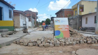 """O programa """"Prefeitura na sua Área"""" realizou ações no MonteRecôncavo e Jabequara da Areia"""