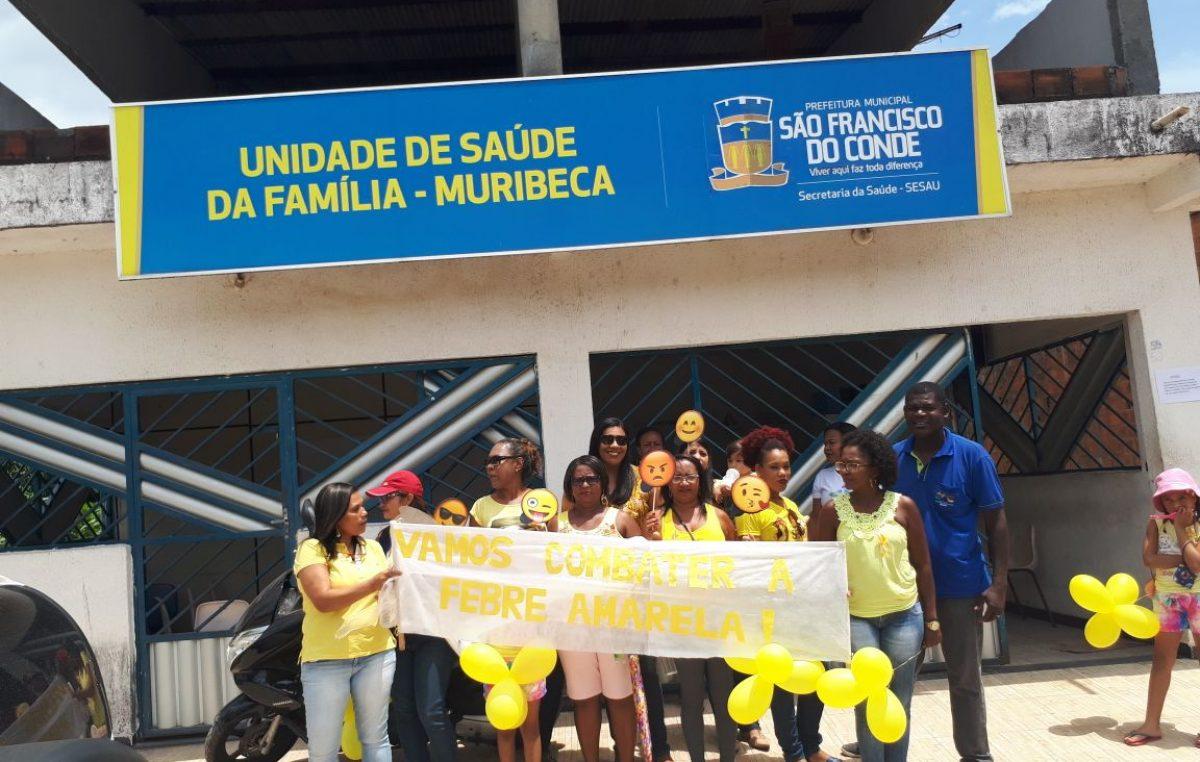 Equipe da Saúde realiza ação preventiva na Muribeca
