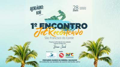 1° Encontro JetRecôncavo será neste domingo (28)