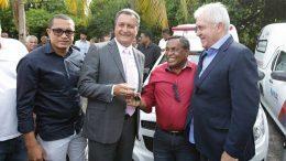 Prefeito recebeu chave da nova ambulância de São Francisco do Conde