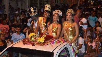Eleitos o Rei Momo, a Rainha e as Princesas do Carnaval Cultural de São Francisco do Conde