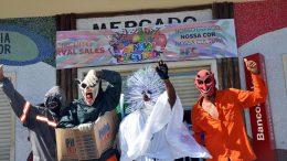 Bandas animam domingo de Carnaval na orla marítima de São Francisco do Conde