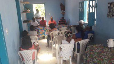 Moradores do bairro da Pitangueira receberam o Projeto Ouvidoria Itinerante, nesta quarta-feira (21)