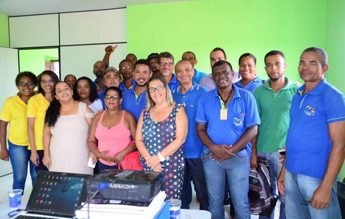 Oficinas do Plano Municipal de Saneamento Básico foram realizadas nesta quarta-feira (21), no Caípe de Baixo