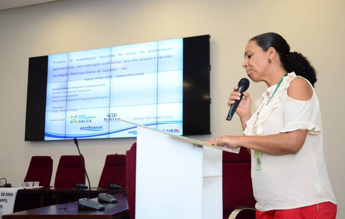 Projeto Reabilitação Florestal de Áreas de Preservação Permanentes dos rios Joanes e Jacuípe foi apresentado nesta sexta-feira (23)