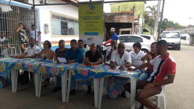 Moradores do bairro do Gurugé receberam nesta sexta-feira (09) a 7ªedição da Ouvidoria Itinerante 2018