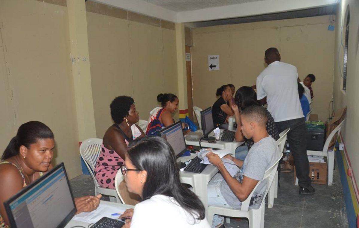 Recadastramento doPASe entrega dos tickets da Semana Santa foram estendidos até 20 de março para os bairros que compreendem a divisão Mataripe
