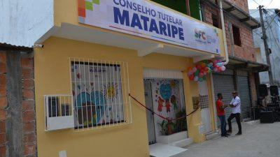 Inauguração do Conselho Tutelar de Mataripe movimentou o bairro do Caípe