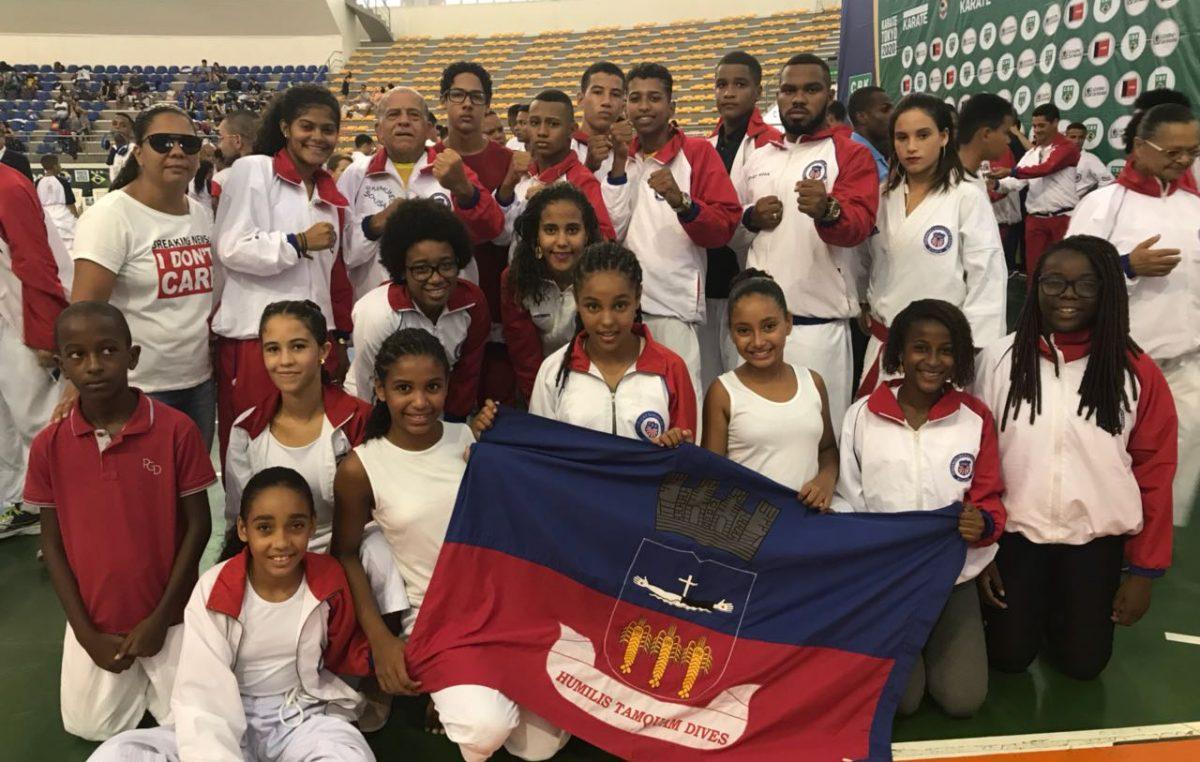 Campeonato Brasileiro de Karatê 2018: 25 atletas franciscanos trouxeram 30 medalhas