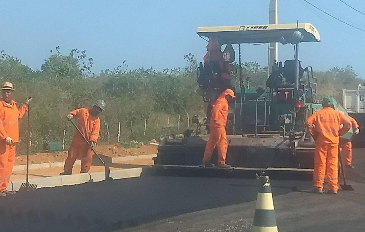 Obras na estrada de Campinas estão em fase avançada
