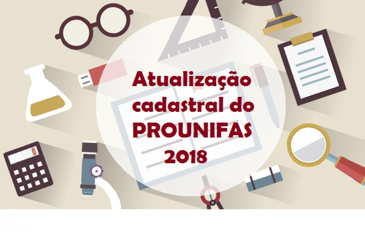 PROUNIFAS realiza nova convocação para atualização cadastral