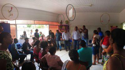 Diálogo entre a Educação e a comunidade do Madruga revela transparência na gestão Evandro Almeida