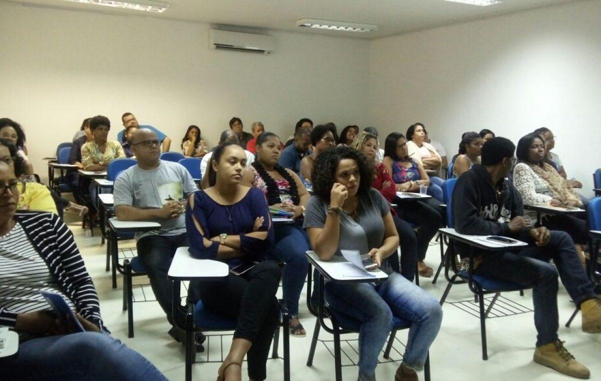 SESAU e SEDUC fizeram evento para tratar da promoção da saúde do trabalhador