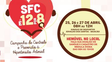 São Francisco do Conde é 12 por 8: Ação visacombater e prevenir a hipertensão arterial