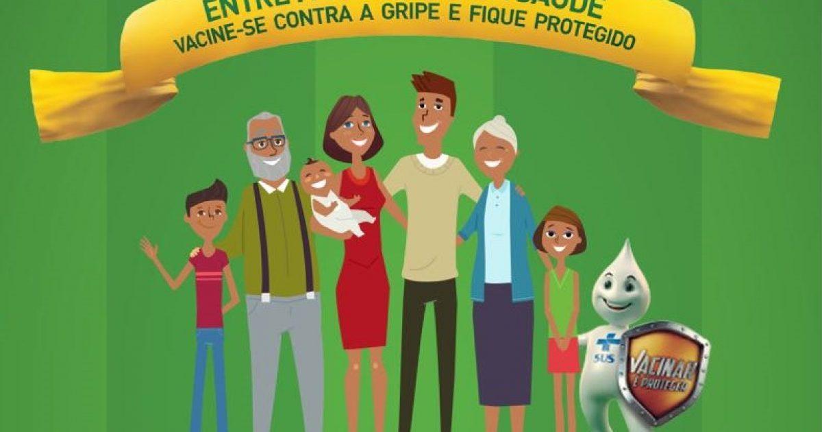 Campanha de Vacinação Contra aInfluenza(gripe) começa 23 de abril