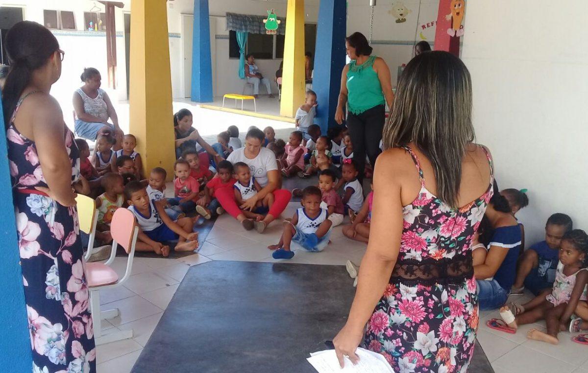 Creche Isidória Borges realiza semana de conscientização contra a dengue