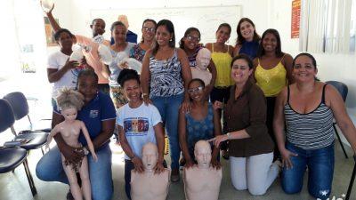 Saúde: Capacitação buscou qualificar profissionais para Ressuscitação Cardiopulmonar