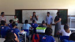 Estudantes do Ensino Médio mobilizados para o ENEM