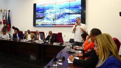 Audiência pública discutiu a venda de 60% dos ativos da Refinaria Landulpho Alves(RLAM)