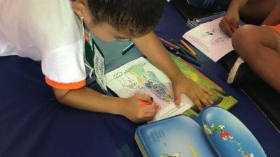 Atividade realizada em parceria com o CRAS/SEDESE e a Biblioteca Central estimulam o hábito da leitura