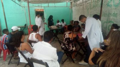 Projeto de Quintal em Quintal Fazendo Saúde teve mais uma edição no Caípe