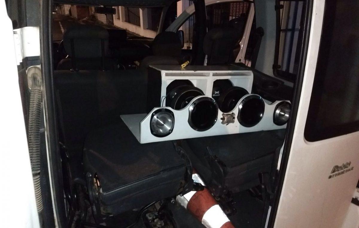 Operação de combate à poluição sonora apreendeu equipamento de som em Jabequara da Areia