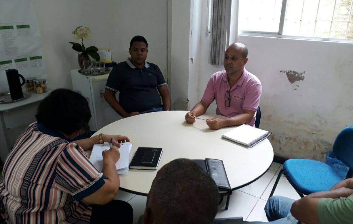 Comissão de Negociação da Prefeitura se reuniu com representes do SINDSEFRAN nesta terça-feira (08)