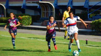 Futebol feminino: São Francisco Esporte Clube venceu o Pinheirense (PA) pelo placar de 5X3