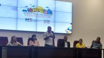 SESCOP: Audiência Pública discutiu à execução dos Serviços Integrados de Limpeza Urbana de São Francisco do Conde