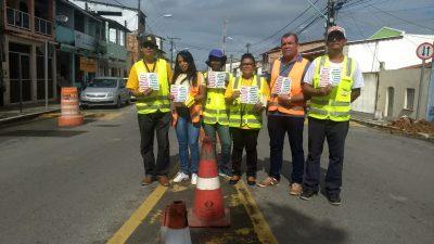 Maio Amarelo é encerrado com  diversas ações educativaspara alertar os motoristas e motociclistas da cidade