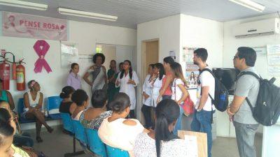 Estudantes de Medicina da UNEB promoveram palestra no CRESAM