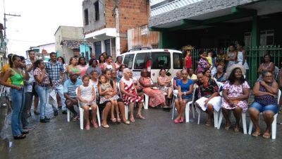 Comunidade do Caípe recebeu mais uma edição do Forró Social promovido pelo CRAS na última terça-feira (12)