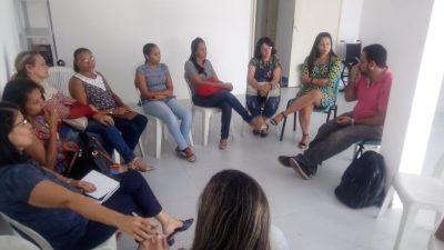 São Francisco do Conde recebeu psicólogo do CETAD para uma discussão sobre tratamento a usuários de álcool e outras drogas