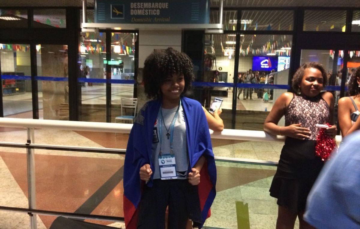 """Aluna do CECBA retorna da V Conferência Nacional Infanto-Juvenil pelo Meio Ambiente: """"foi único!"""""""
