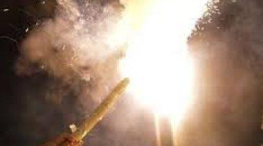 Equipes da Saúde realizaram atividades nas escolas sobre o perigo dos fogos de artifício