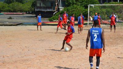 Jogos decisivos e acirrados marcaram as semifinais daII Copa Osmar Machado de Futebol de Areia