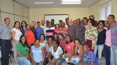 SFC: Prefeito Evandro Almeida assinou Ordem de Serviço para início das ações da Associação de Catadores de Material Reciclável da Bahia