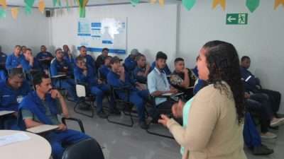 Importância e formasconscientes de uso da água foi tema de palestra da SEMAP na Brasilgás