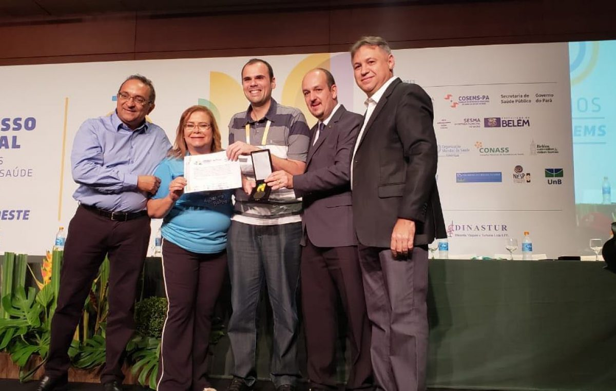 Experiência exitosa de São Francisco do Conde foi premiada no CONASEMS