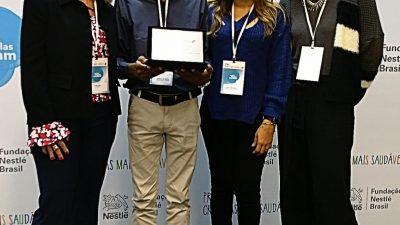 Escola Municipal Iromar Silva Nogueira é premiada em concurso da Nestlé