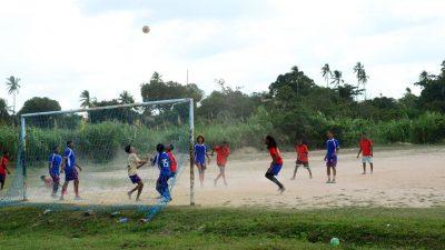 Campeonato de Futebol marca as comemorações do Dia do Estudante, no bairro do Caípe