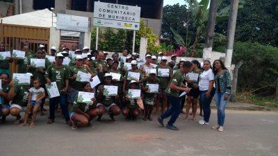 Marisqueiras e pescadores da Muribeca foram certificados pelo Projeto CO2 Manguezal