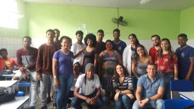 Estudantes da Ana Junqueira Ayres Tourinho participam de projeto que envolve fortalecimento de vínculo entre escola e saúde