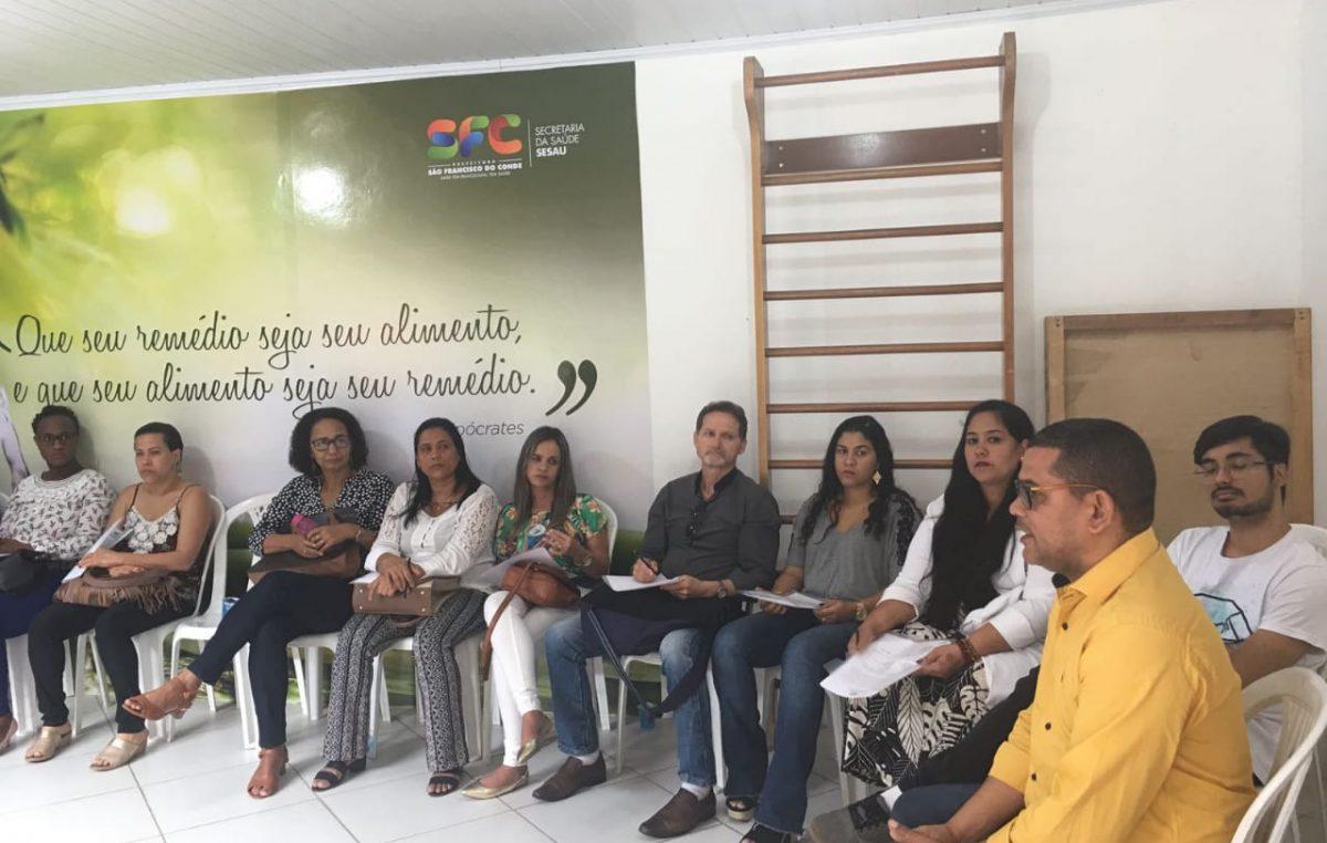 Saúde promoveu encontro com administradores distritais no Caípe
