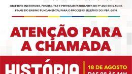 Aulas preparatórias para o Processo Seletivo do IFBA começam no próximo sábado (18)