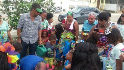 Dia da Árvore: Escolas municipais, em parceria com SEMAP, promoveram ações de conscientização e preservação ambiental